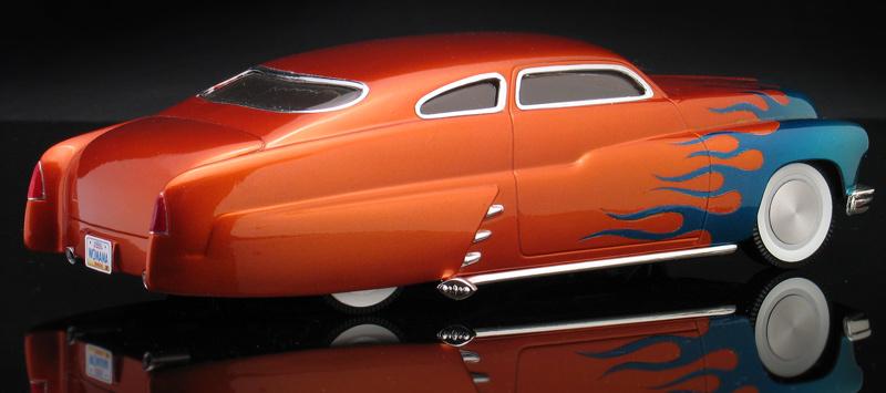 1950 mercury chopped top custom lead sled