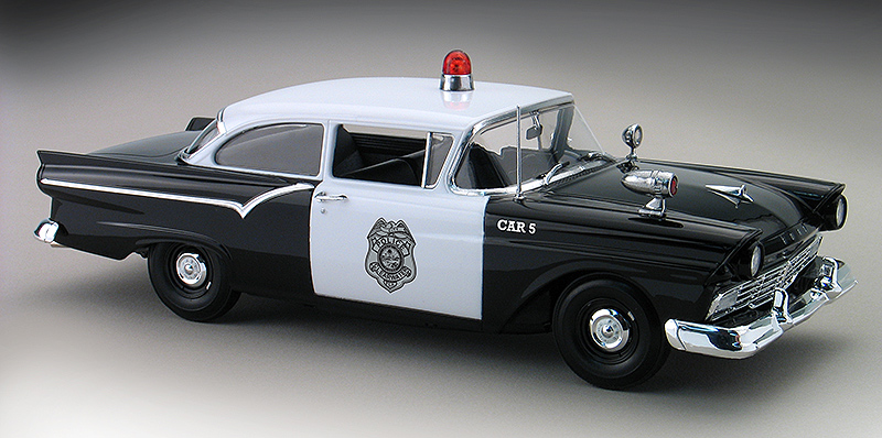 1957 Ford Custom Police Car