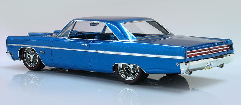 1968 Plymouth Fury III Hemi pro-touring