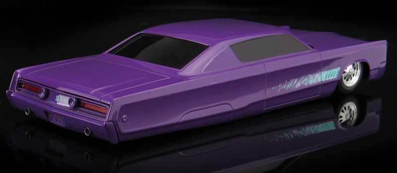 Chopped top 68 chrysler 300 lead slead under glass model cars johan68chrysler300modelg purplechrysler300customg sciox Image collections