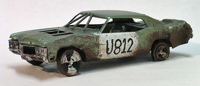 Building Demolition Derby Car : Demolition derby car