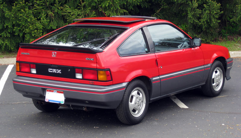 for sale 1985 honda crx si excellent condition one owner low miles 5950. Black Bedroom Furniture Sets. Home Design Ideas