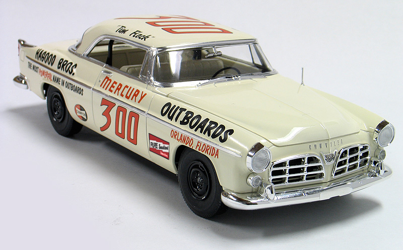 Moebuis Model King Tim Flock 1955 Chrysler 300 Stock Car Model Kit