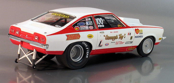 Bill Jenkins 1972 Grumpy S Toy Chevy Vega Pro Stock