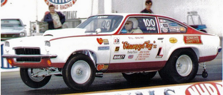 Bill Hood Chevy >> Bill Jenkins' 1972 Grumpy's Toy Chevy Vega Pro Stock