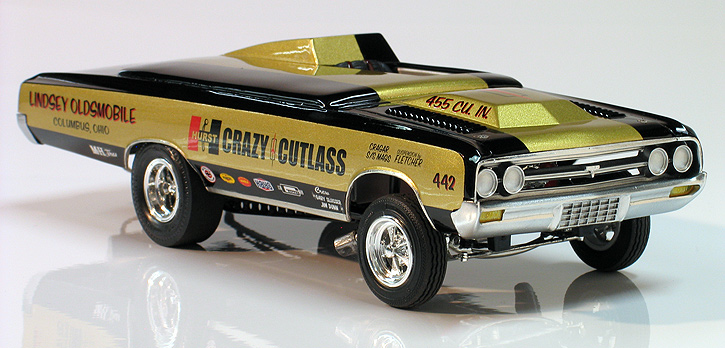 1964 Olds F 85 Hurst Crazy Cutlass 442 Altered Wheel Base Drag Car