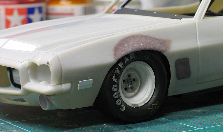 David Pearson's 1971 Pontiac GTO stock car