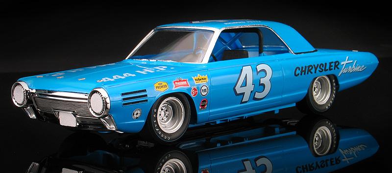 Richard Petty Chrysler Turbine Stock Car Concept With Daytona