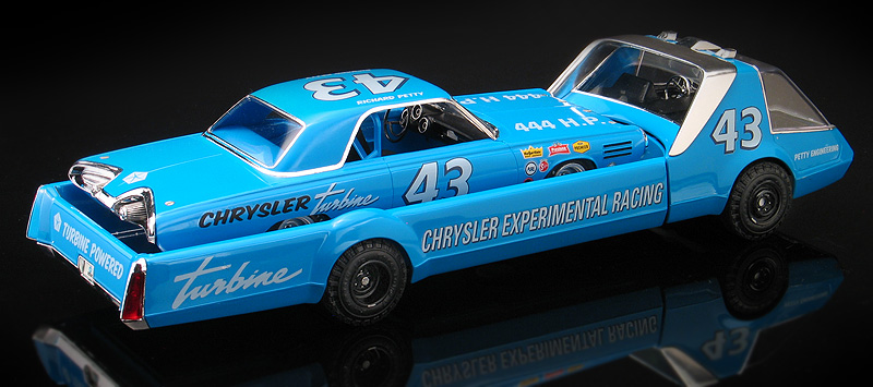 Richard Petty Chrysler Turbine Stock Car Concept with