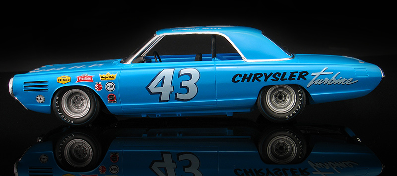 Richard Petty Chrysler Turbine Stock Car Concept with
