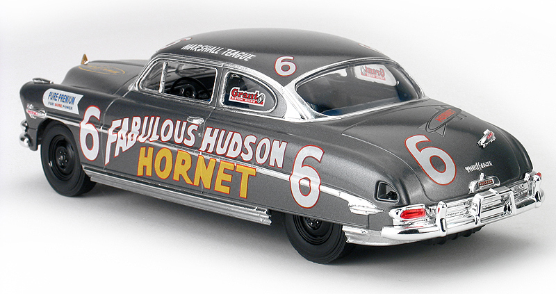 Moebuis Model King Mashall Teague 1952 Hudson Stock Car Model Kit